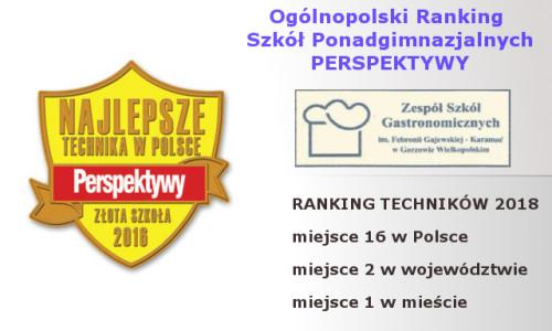 RANKING TECHNIKÓW 2017