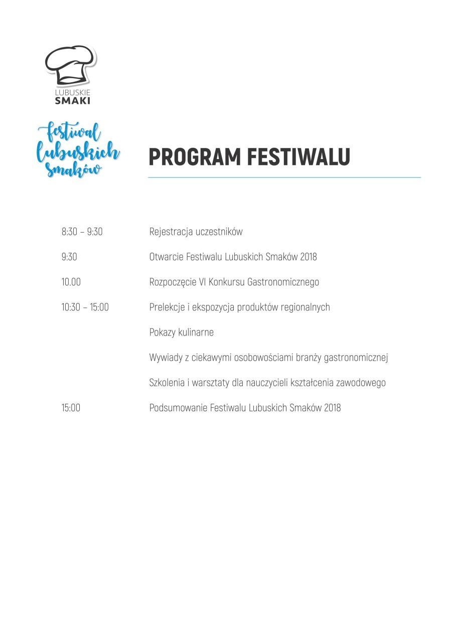 Program FSL 2018